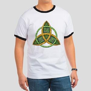 Celtic Trinity Knot Ringer T