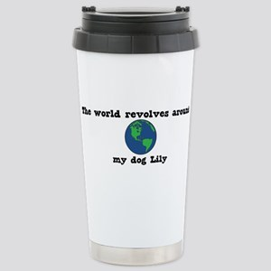 World Revolves Around Lily Mugs