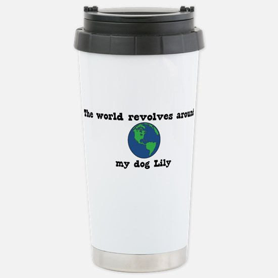 World Revolves Around Lily Mugs