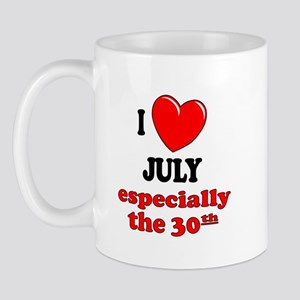 July 30th Mug