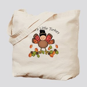 Nana's Lil Turkey Tote Bag