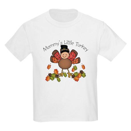 Mommy's Lil Turkey Kids Light T-Shirt