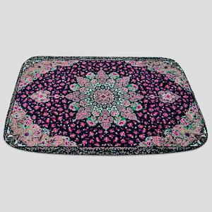 Antique Vintage Pink Persian Rug Bathmat