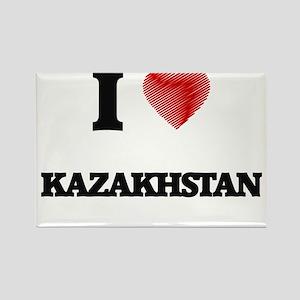 I Love Kazakhstan Magnets
