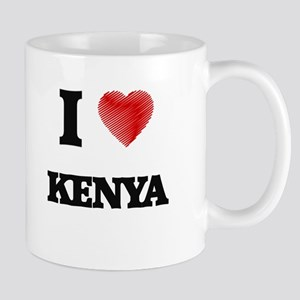 I Love Kenya Mugs