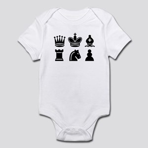 Chess game Infant Bodysuit