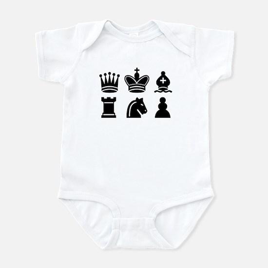 Chess game Infant Bodysuit