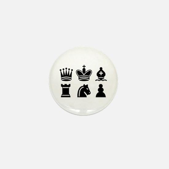 Chess game Mini Button