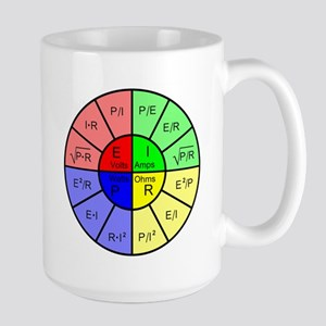 Ohm's Law Large Mug