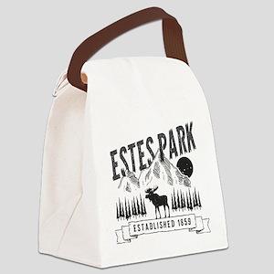 Estes Park Vintage Canvas Lunch Bag