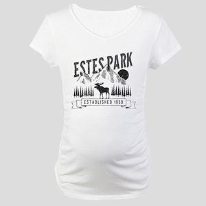 Estes Park Vintage Maternity T-Shirt