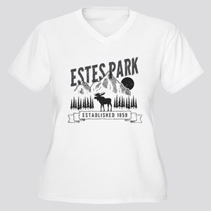 Estes Park Vintage Plus Size T-Shirt