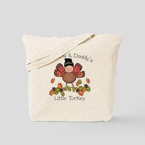 Mommy & Daddy's Lil Turkey Tote Bag