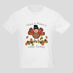 Nana & Poppy's Lil Turkey Kids Light T-Shirt