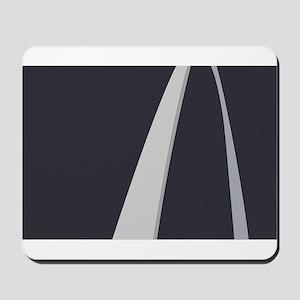Gateway Arch Flag Mousepad