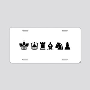 Chess sports Aluminum License Plate