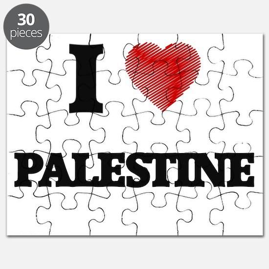 I Love Palestine Puzzle
