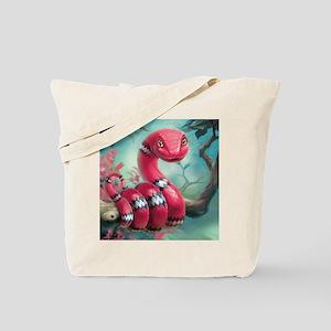 Cute Snake Tote Bag