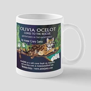 Olivia Ocelot Mugs