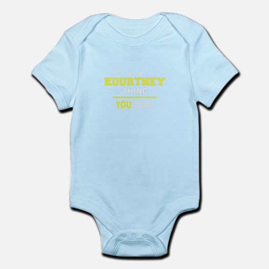 KOURTNEY thing, you wouldn't understand Body Suit