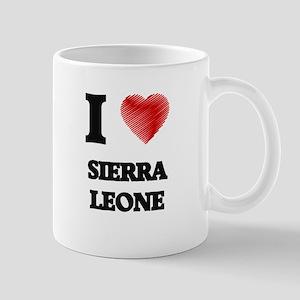 I Love Sierra Leone Mugs