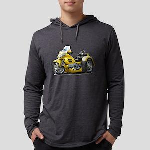 Goldwing Yellow Trike Long Sleeve T-Shirt