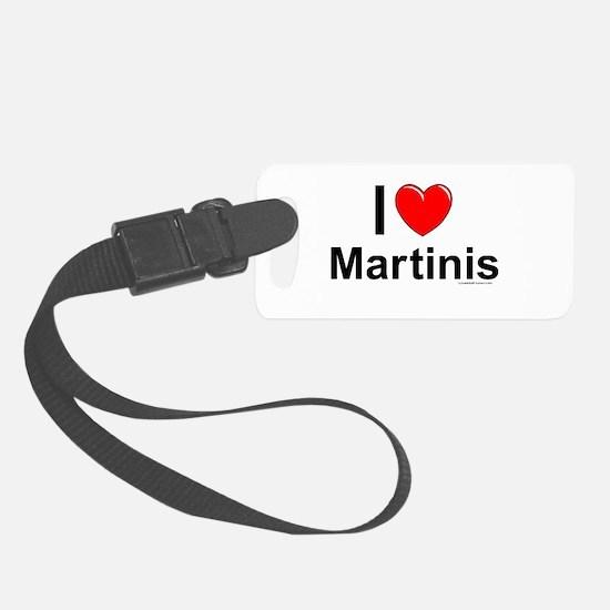 Martinis Luggage Tag