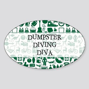 DUMPSTER... Sticker