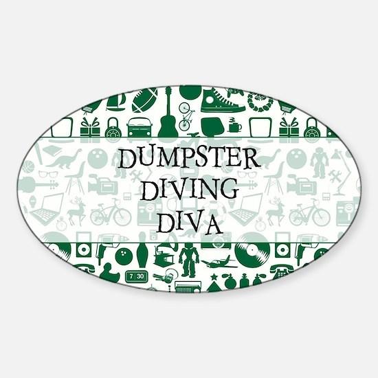 DUMPSTER... Decal