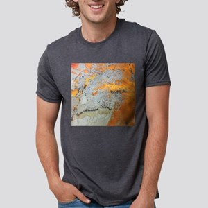 grey yellow metal abstract T-Shirt