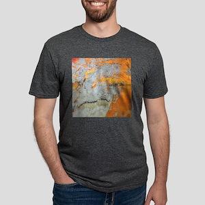 grey yellow metal abstract T-Shirt