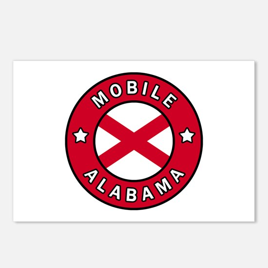 Mobile Alabama Postcards (Package of 8)