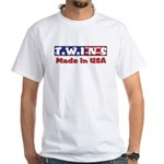 Twins Made in USA White T-Shirt
