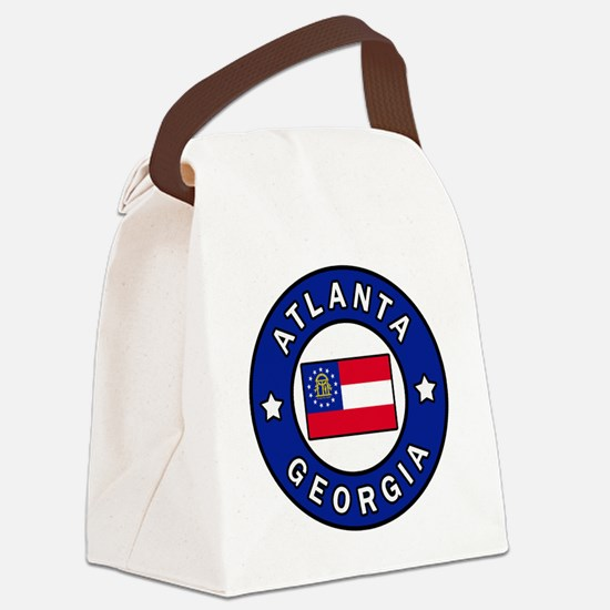 Hotlanta Canvas Lunch Bag