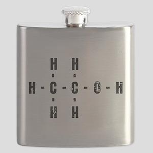 Molecular Alcohol Flask