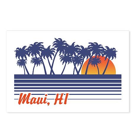 Maui Hawaii Postcards (Package of 8)