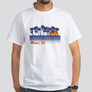 Maui Hawaii White T-Shirt