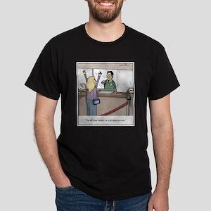 Savings Account Robbery Dark T-Shirt