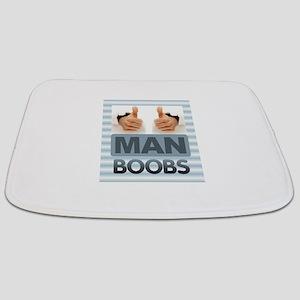 MAN BOOBS Bathmat