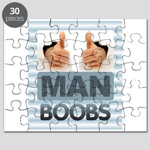 MAN BOOBS Puzzle