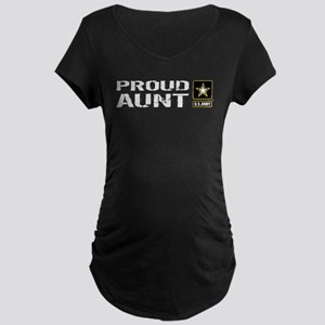 U.S. Army: Proud Aunt Maternity T-Shirt