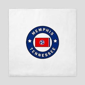 Memphis Tennessee Queen Duvet