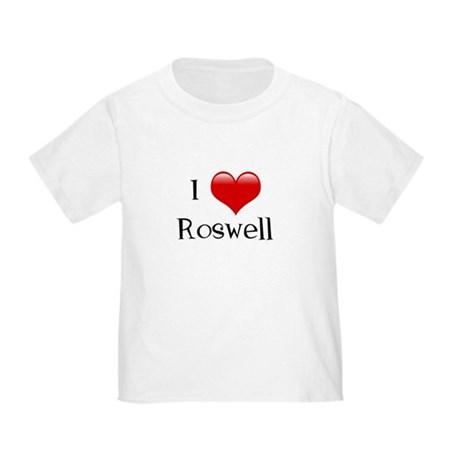 I Love Roswell Toddler T-Shirt