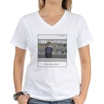 Fast acting placebos Women's V-Neck T-Shirt