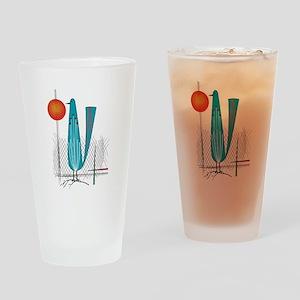 Mid-Century Modern Drinking Glass