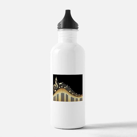 Cute Ebony Water Bottle