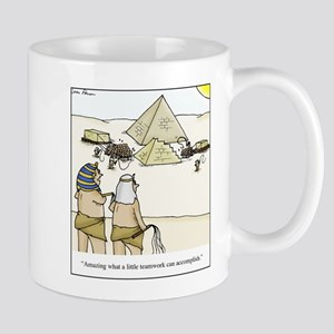 Pyramid Teamwork Mug