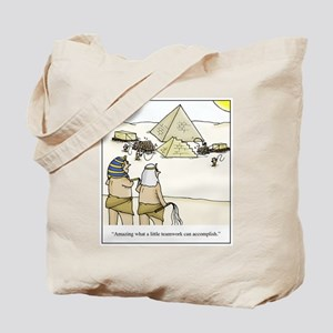 Pyramid Teamwork Tote Bag
