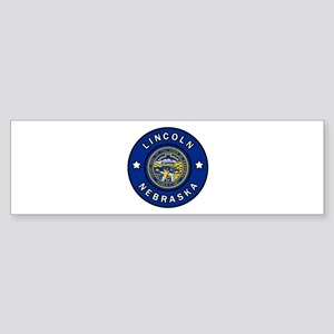 Lincoln Nebraska Bumper Sticker
