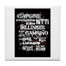 Gangsters Tile Coaster